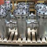 Duplex Stainless Steel filter pots