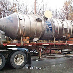 Titanium crystallizer fabricated by Ellett Industries
