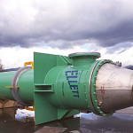 Titanium and carbon steel shell and tube heat exchanger