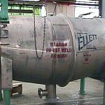 Titanium filter fabricated by Ellett Industries