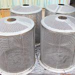 stainless steel basket screen fabricated by Ellett Industries