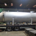 Stainless Steel / zirconium tubed Heat exchanger