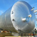 Stainless Steel insulated-tank fabricated by Ellett Industries