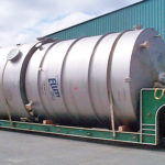 titanium tank fabricated by Ellett industries